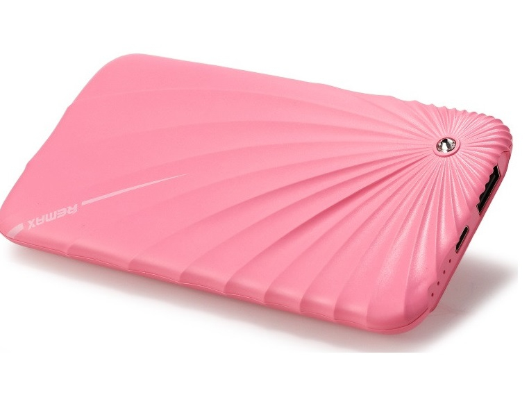 Внешний аккумулятор Remax Power Bank Gorgeous Series 5000 mah Pink