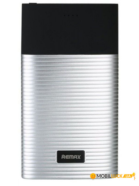 Внешний аккумулятор Remax Power Bank Perfume RPP-27 10000 mah Black silver
