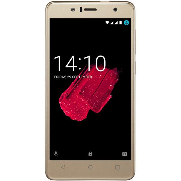 Мобильный телефон Prestigio Muze B5 5520 Dual Sim Gold (PSP5520DUOGOLD)