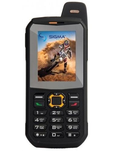 Мобильный телефон Sigma X-treme 3SIM Black-Orange