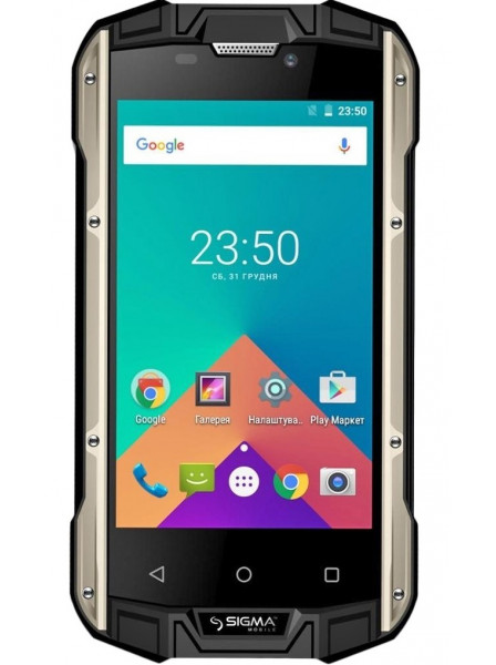 Мобильный телефон Sigma mobile X-treame PQ17 Black-Yellow
