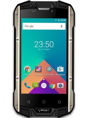 Мобильный телефон Sigma X-treme PQ17 Dual Sim Black-Yellow (4827798373910)