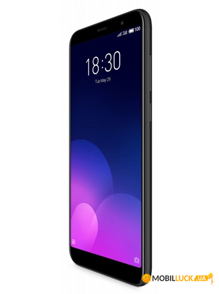 Смартфон Meizu M6T 2/16GB Black *EU