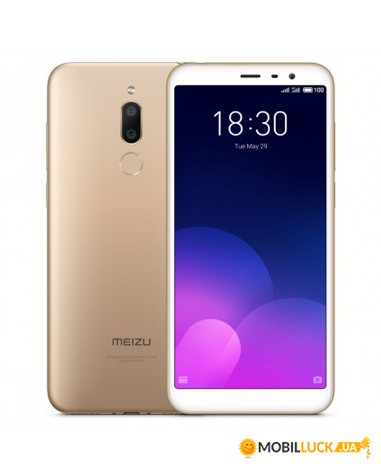 Смартфон Meizu M6T 3/32GB Gold *EU