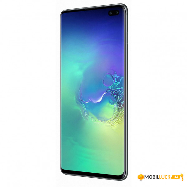 Смартфон Samsung Galaxy S10+ SM-G975 DS 128GB Green (SM-G975FZGD) *EU