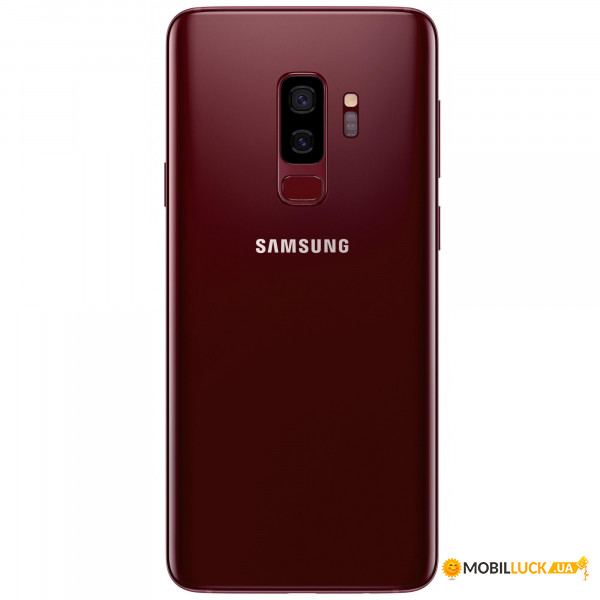 Смартфон Samsung Galaxy S9+ SM-G965 DS 64GB Red (SM-G965FZRD) *EU