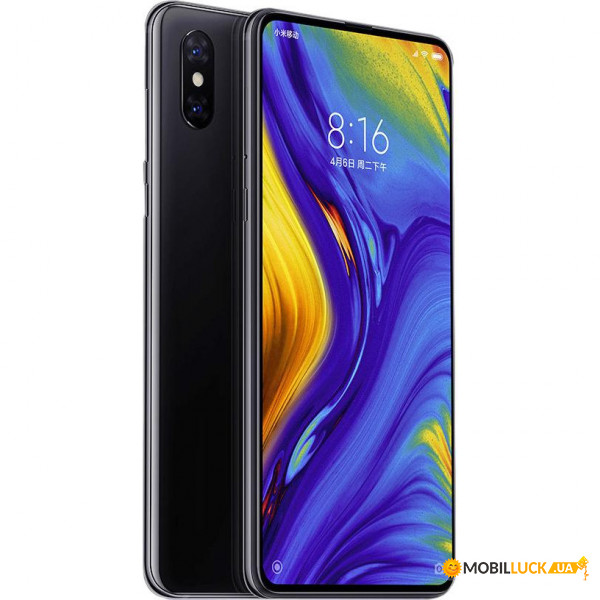 Смартфон Xiaomi MI Mix 3 6/128Gb Onyx Black *EU