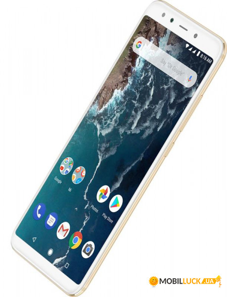 Смартфон Xiaomi Mi A2 4/32GB Gold *EU