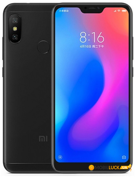 Телефон Xiaomi Mi A2 Lite 3/32GB Black (Global)