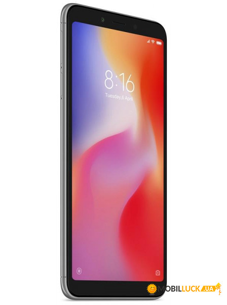 Смартфон Xiaomi Redmi 6 3/32GB Black *EU