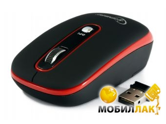 Мышь Gembird wireless (MUSW-103-R) Red