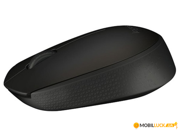 Мышь Logitech Optical Mouse B170 Black (910-004798)