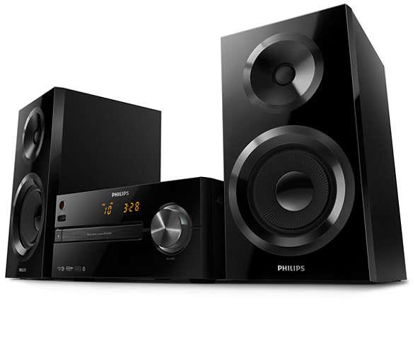 Микросистема Philips BTM2560 Black