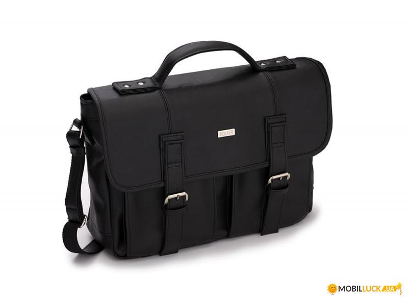 85da394ca119 Городская мужская сумка Solier Черная (S14Black). Купить Городская ...