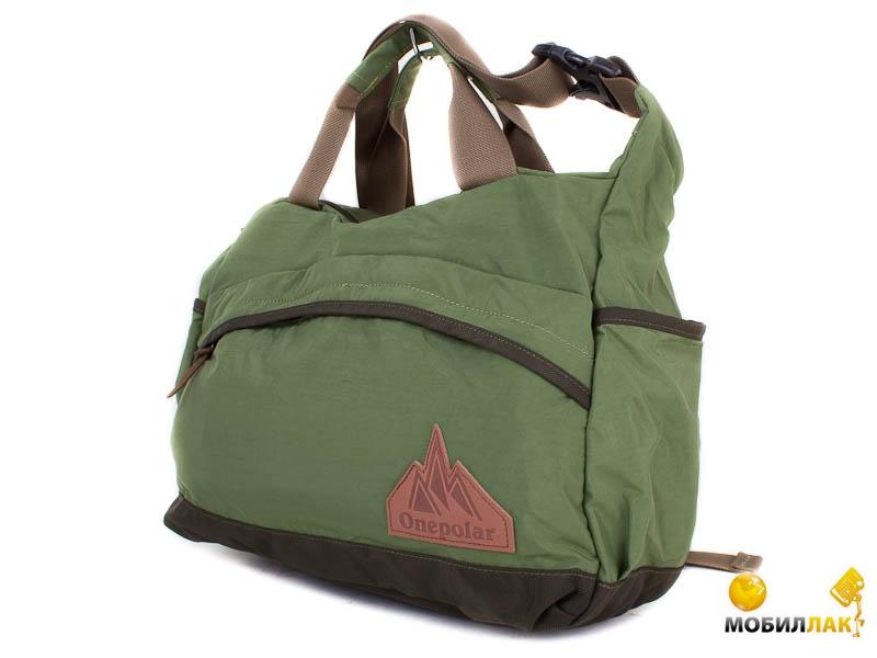 12734b6ec7d7 Мужская спортивная сумка через плечо Onepolar W5266-green. Купить ...