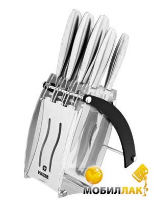 Набор ножей Vinzer RAZOR 89112 (8 пр.)