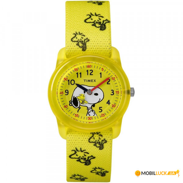 Наручные часы Timex Peanuts Time Teacher Snoopy&Woodstock Tx2r41500