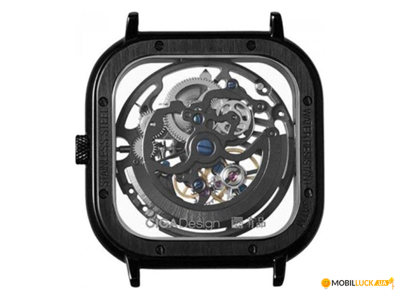 Наручные часы Xiaomi CIGA Design Full Hollow Mechanical Watch Deep Black