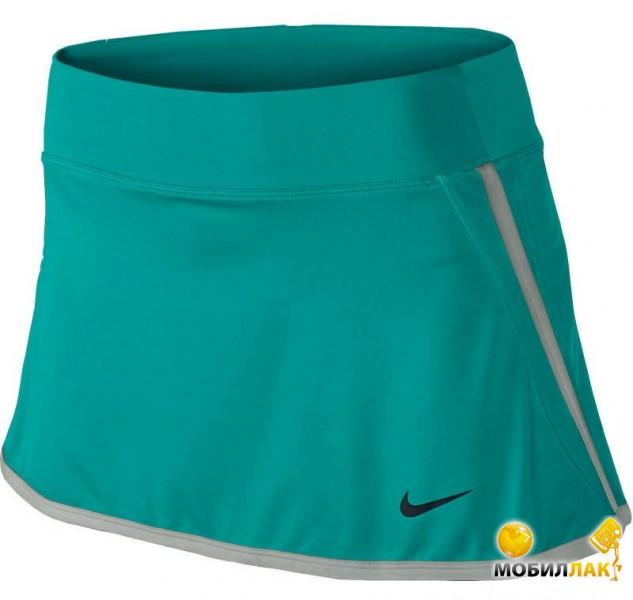 Юбка женская Nike power Skirt ocean-blue/grey (XS)