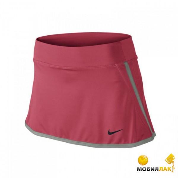 Юбка женская Nike power Skirt pink/grey (S)