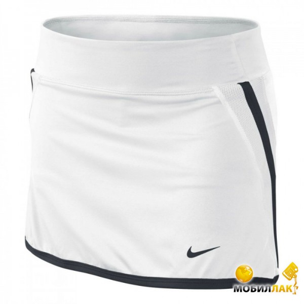 Юбка женская Nike power Skirt white/black (XS)