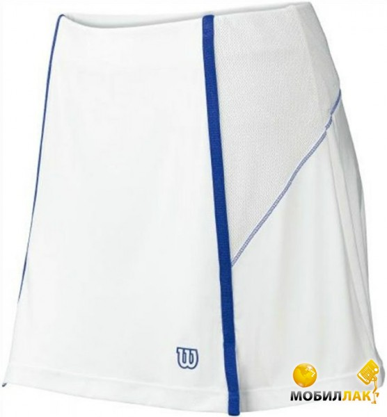 Юбка женская Wilson Ball buster Skirt white/blue (S)