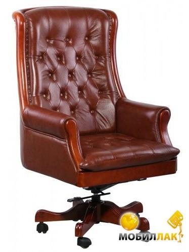 Кресло AMF Линкольн кожа Коричневая (38663)