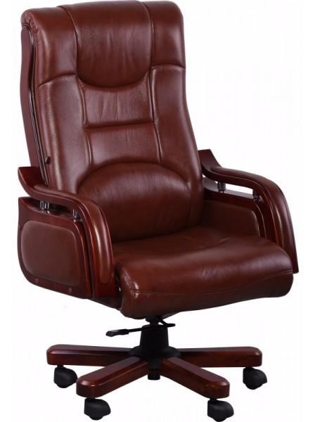 Кресло AMF Ричмонд кожа Коричневая (642-B+PVC)