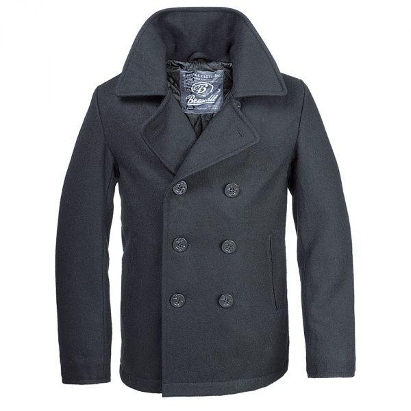 Бушлат Brandit Pea Coat S Black (3109.2)