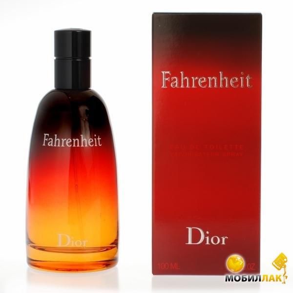 Туалетная вода Christian Dior Fahrenheit for man 100мл