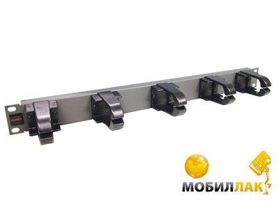 Патч-панель Molex 19&quotRR (Jumper) Panel, 1U, Graphite (25.B016G)