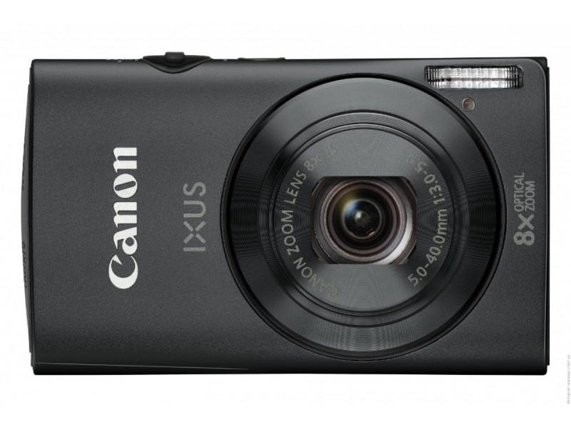 Фотоаппарат Canon PowerShot Ixus 230 HS Black (12 месяцев)
