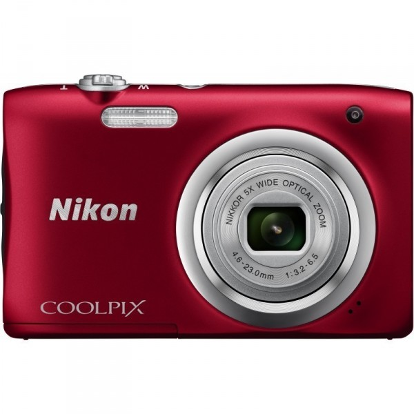 Цифровая фотокамера Nikon Coolpix A100 Red