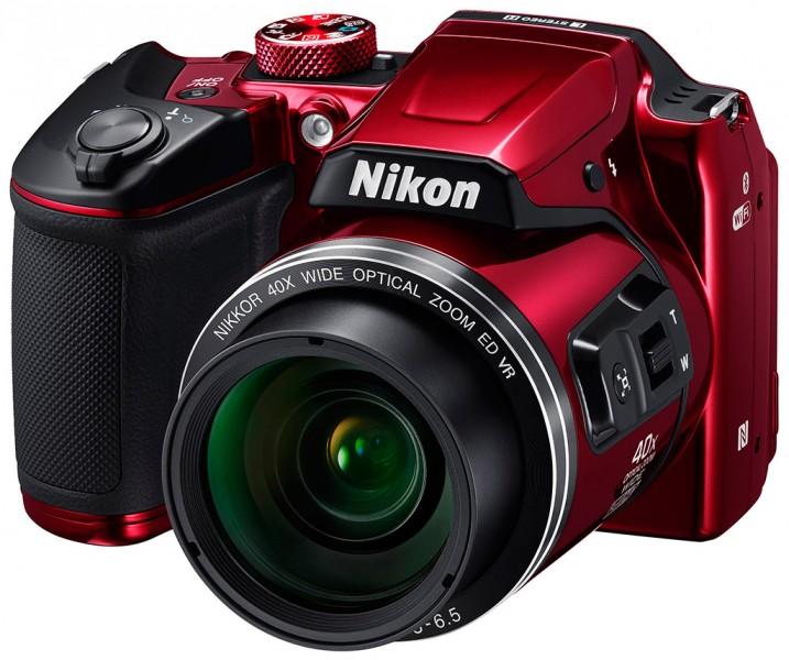 Цифровая фотокамера Nikon Coolpix B500 (VNA953E1) Red
