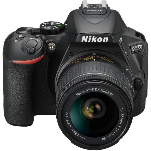Фотокамера Nikon D5600 + AF-P 18-55 VR + AF-P 70-300 VR (VBA500K004)