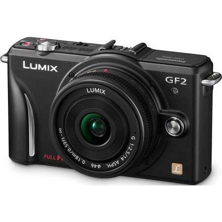 Фотоаппарат Panasonic Lumix DMC-GF2 Kit 14-42 mm Black