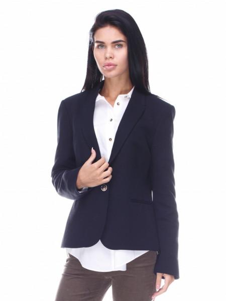 Пиджак Massimo Dutti р-р 46 Черный (6030691)