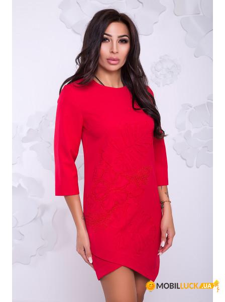 cb53f723726 Платье Irmana Каролина 024 р. M-L Красный. Купить Платье Irmana ...