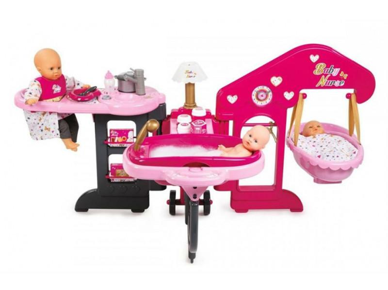 Игровой центр по уходу за куклой Smoby Baby Nurse (220318)