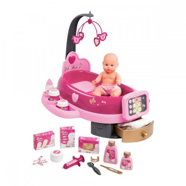 Игровой центр Smoby Baby Nurse для ухода за куклой с пупсом и аксессуарами (220317)