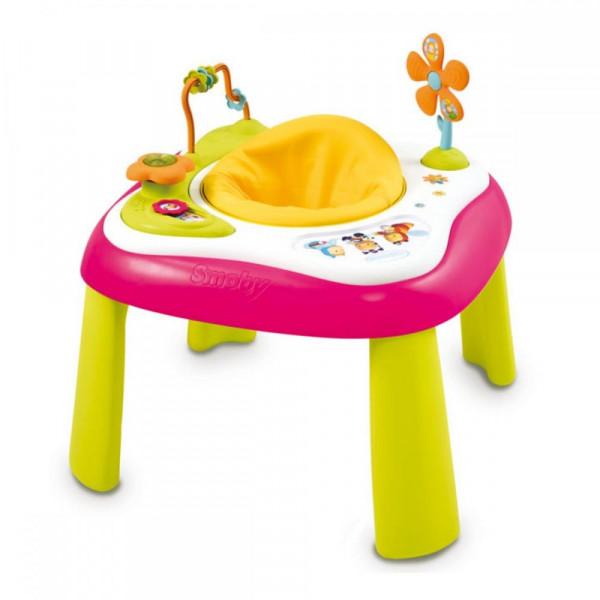 Развивающий стол Smoby Cotoons Розовый (110200R)