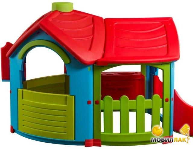 Детский игровой домик PalPlay Triangle Villa with extension (26684)