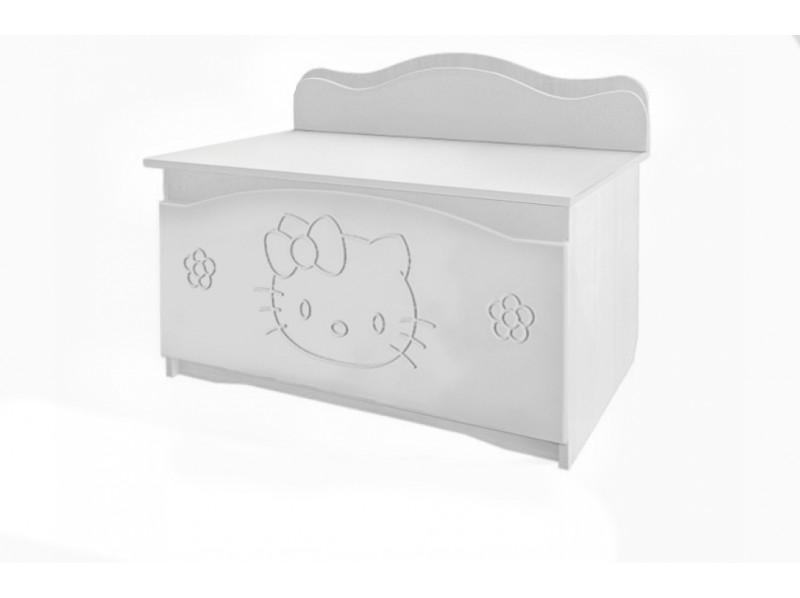 Ящик для игрушек Вальтер-С Kiddy Белый (BK3W)