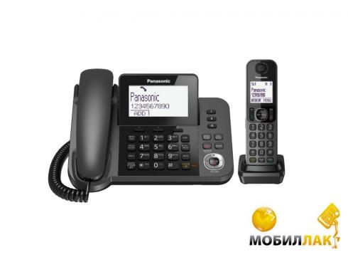 Радиотелефон Panasonic Dect KX-TGF320UCM Black