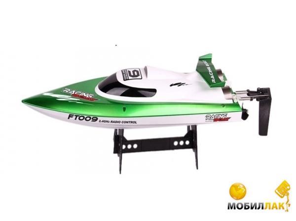 Катер на радиoуправлении Fei Lun High Speed Boat FT009 2.4GHz (зеленый) (FL-FT009g)