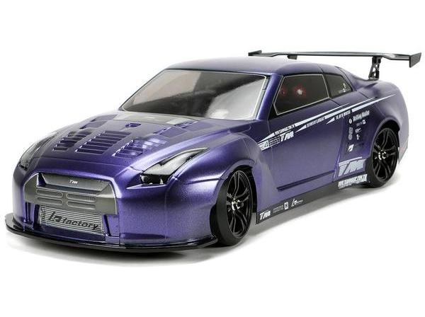 Радиоуправляемая модель Himoto Дрифт Team Magic E4D MF Nissan GT-R R35 ARTR коллекторный 1:10