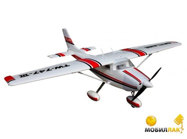 Модель р/у самолёта VolantexRC Cessna 182 Skylane 1560мм 2.4GHz RTF (TW-747-3-BL-RTF)