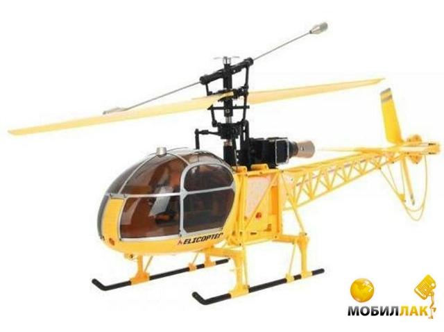 Вертолет WL Toys 4-к большой р/у V915 Lama желтый (WL-V915y)