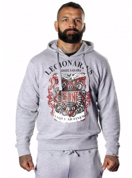 Толстовка Leone Legionarivs Fleece Grey 500063 M