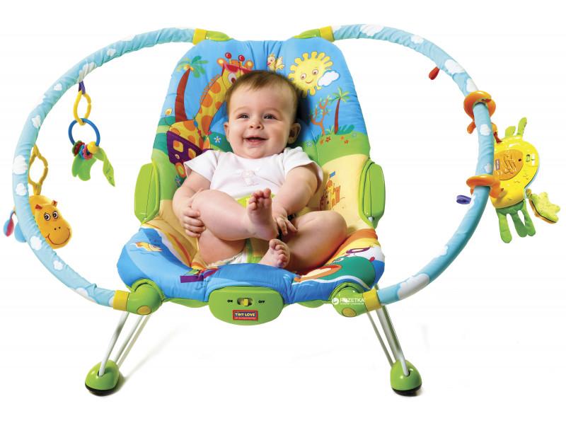 Массажное кресло Tiny Love Жители саваны (1800106830)